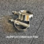Lollipop Titanium Alloy Pedal