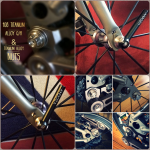 108 Titanium Alloy Q/R for Brompton