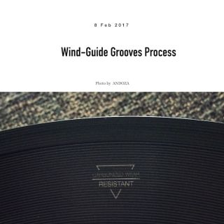 Wind-Guide grooves process
